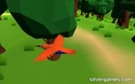 bird simulator flying bird