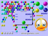 bubble shooter game over