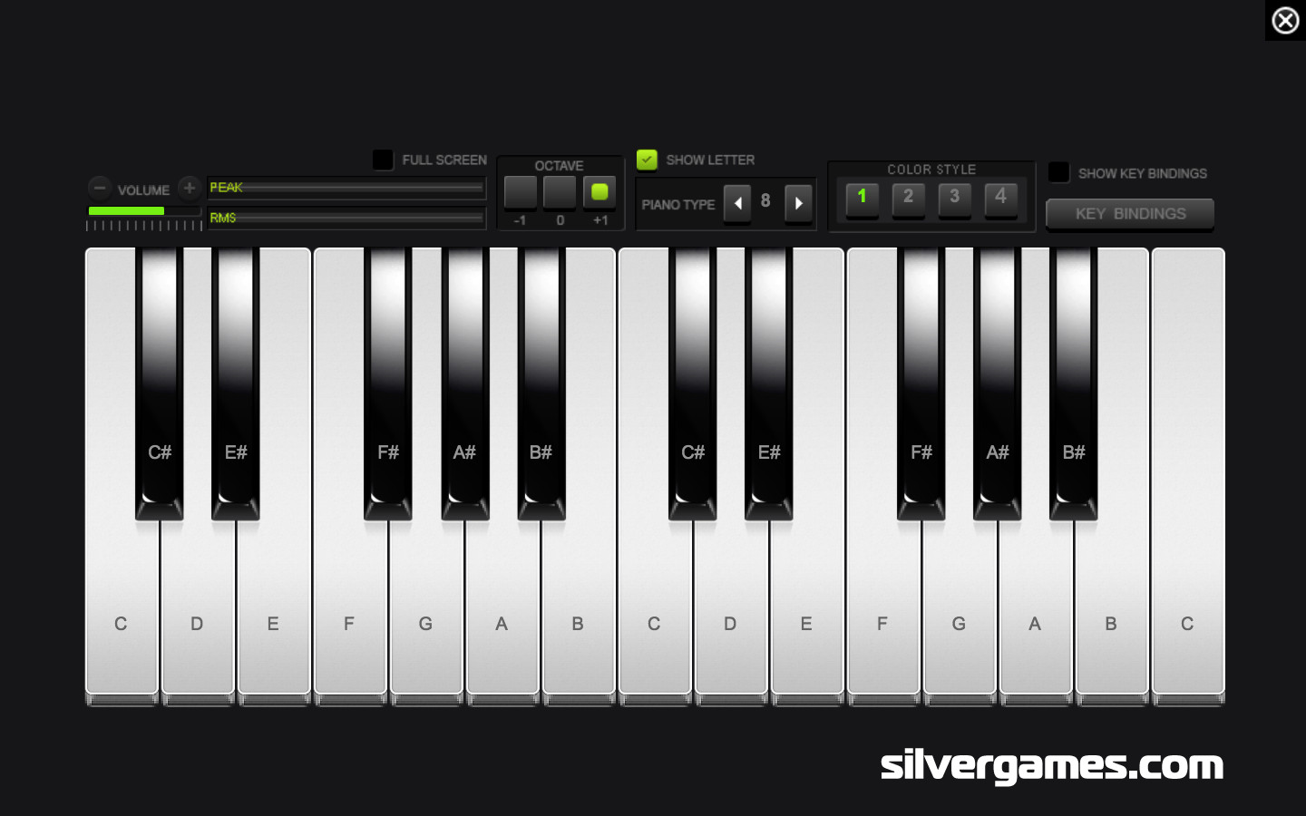 The Original Piano App | Virtual Keyboard | Online Music | Piano Game | CMAGICS